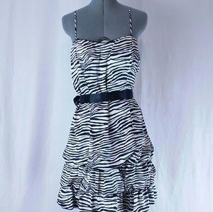 Taboo Zebra Print Dress
